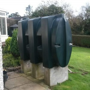 Oil tank replacement - old tank