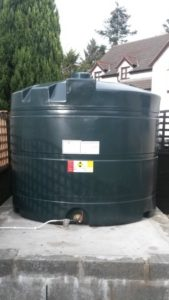 Oil tank replacement - new tank