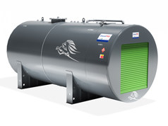 DieselPRO Cylindrical Storage and Dispensing Steel Bunded Tank 10000 litres