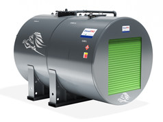 DieselPRO Cylindrical Storage and Dispensing Steel Bunded Tank 5000 litres